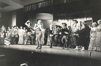 The 1979 production of Calamity Jane at The Pier, Cleethorpes